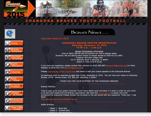 Chanooka Braves Football