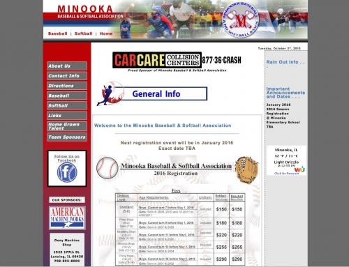 Minooka Baseball and Softball Association