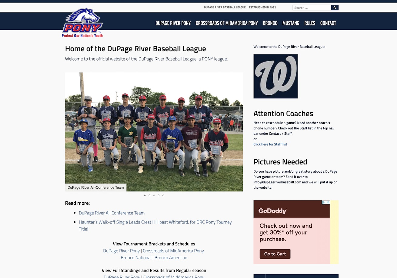 DuPage River Baseball